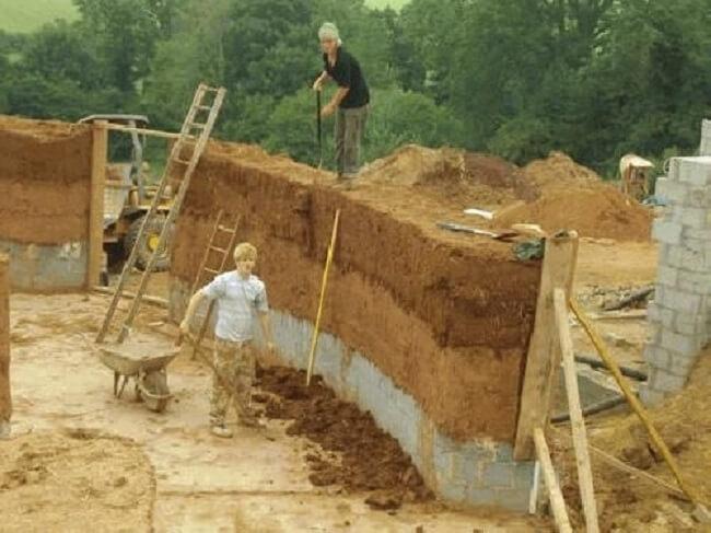 البناء بتقنية ال cob